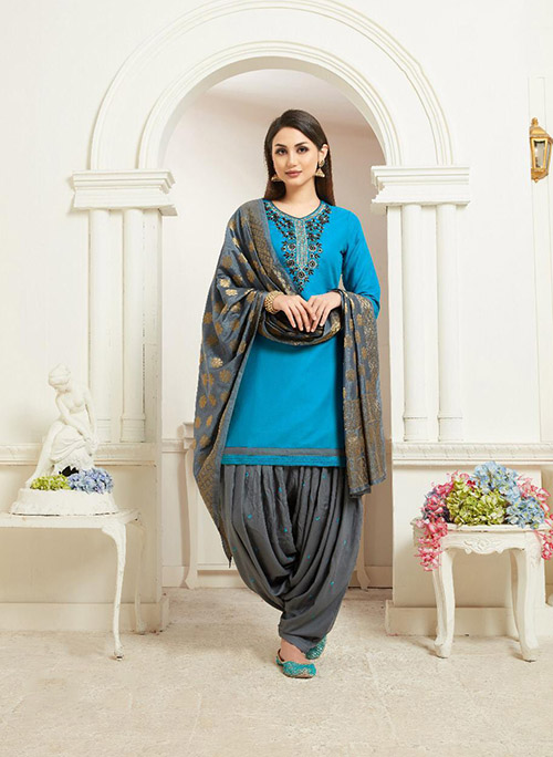 DESIGNER INDIAN SALWAR KAMEEZ - BT-SK-R-30029