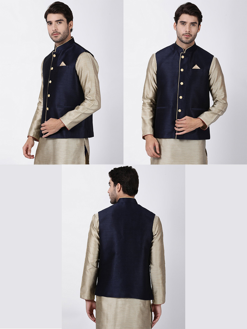 DESIGNER INDIAN JACKET-600010-XL - $59.99