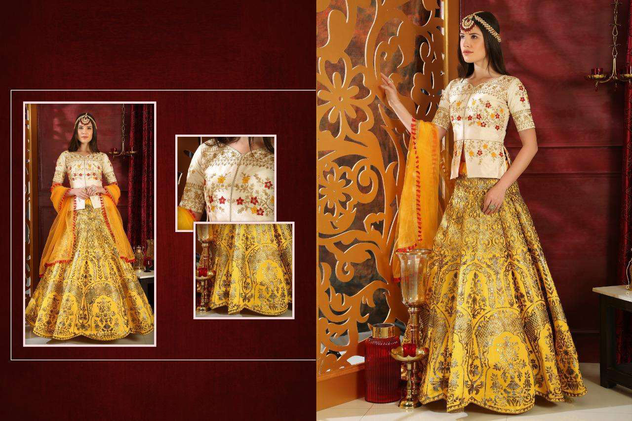 BEAUTIFUL INDIAN LEHENGA CHOLI - BT-LH-R-10209-XL - $139.99