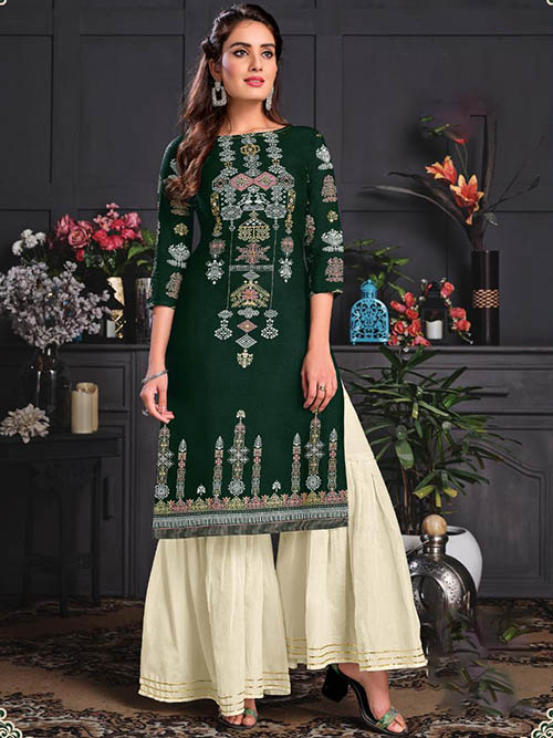 DESIGNER INDIAN KURTI - BT-K-R-90036-M