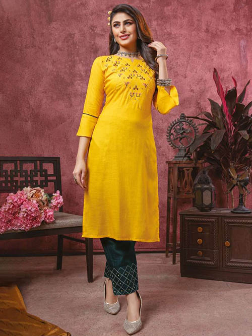 DESIGNER INDIAN KURTI - BT-K-R-90114-M