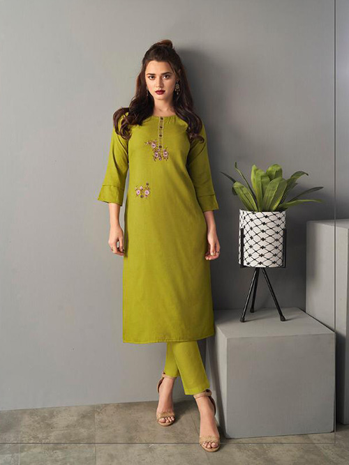 DESIGNER INDIAN KURTI - BT-K-R-90178-S