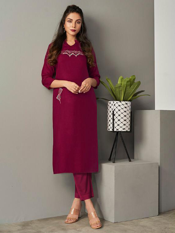 DESIGNER INDIAN KURTI - BT-K-R-90179-S