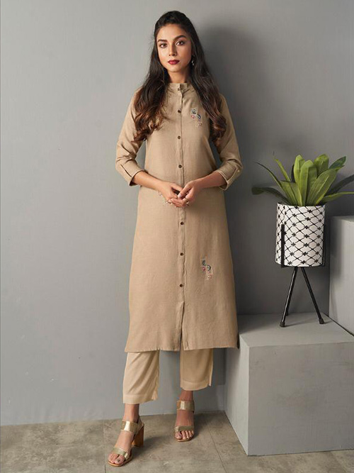 DESIGNER INDIAN KURTI - BT-K-R-90180-S