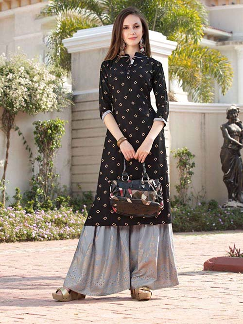 DESIGNER INDIAN KURTI - BT-K-R-90183-L