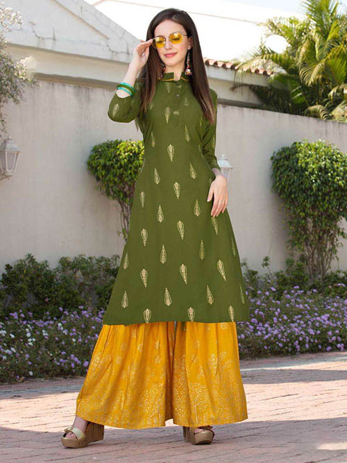 DESIGNER INDIAN KURTI - BT-K-R-90184-L