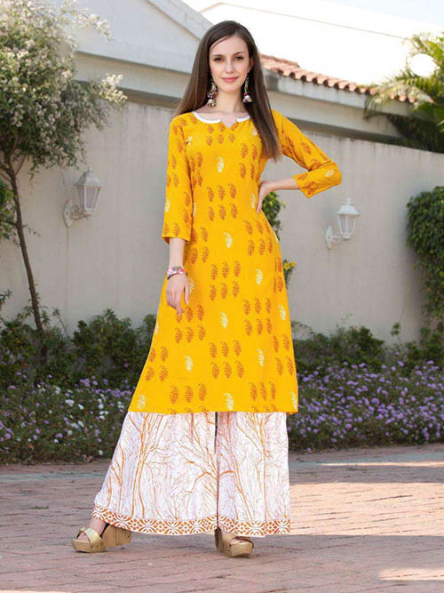 DESIGNER INDIAN KURTI - BT-K-R-90187-L
