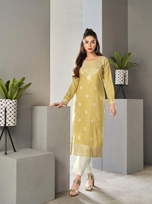 DESIGNER INDIAN KURTI - BT-K-R-90191-S