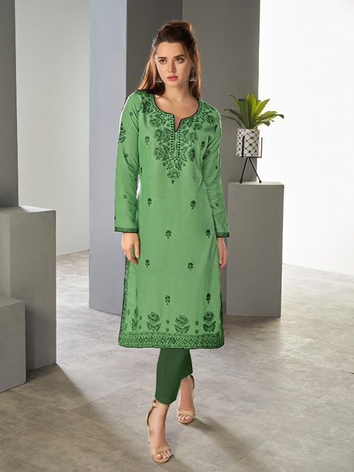 DESIGNER INDIAN KURTI - BT-K-R-90194-S