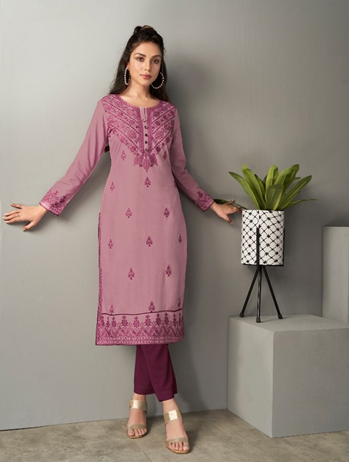 DESIGNER INDIAN KURTI - BT-K-R-90195-S