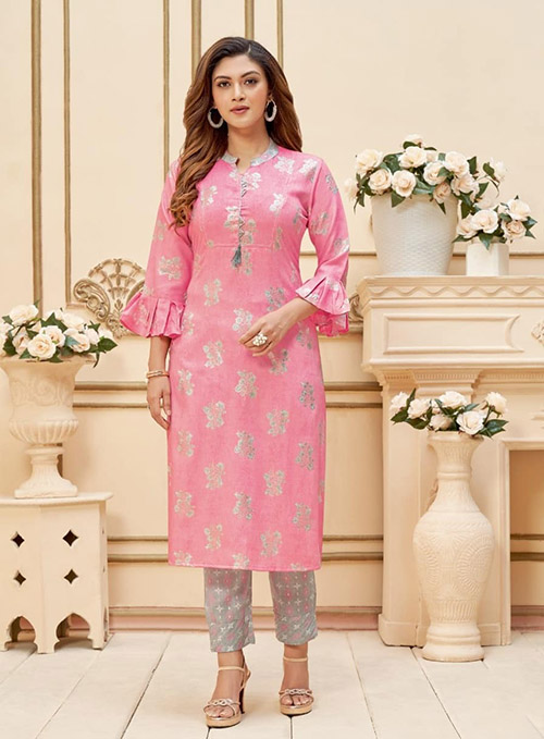 DESIGNER INDIAN KURTI - BT-K-R-90201-XXL