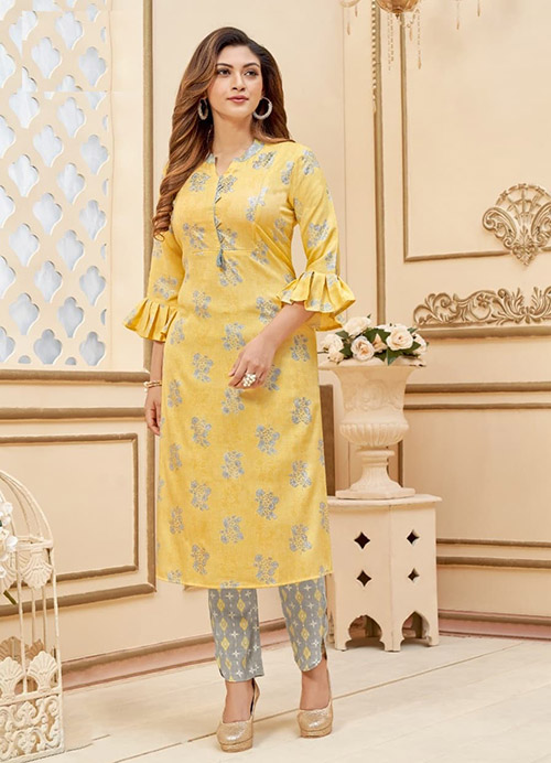 DESIGNER INDIAN KURTI - BT-K-R-90202-XXL