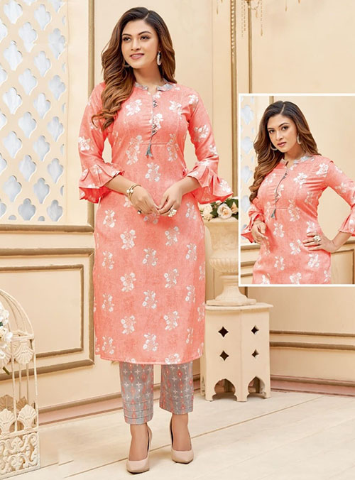 DESIGNER INDIAN KURTI - BT-K-R-90203-XXL