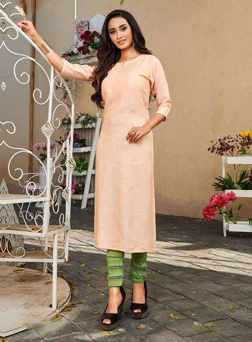 DESIGNER INDIAN KURTI - BT-K-R-90216-3XL