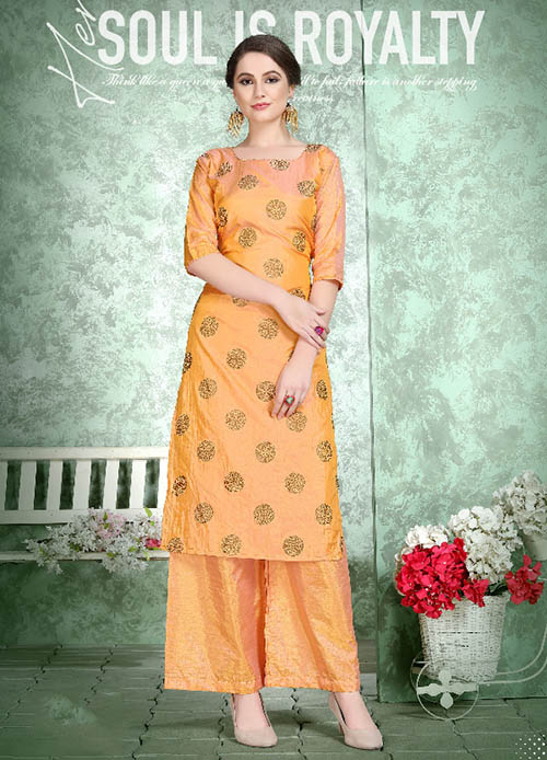 DESIGNER INDIAN KURTI - BT-K-R-90221-M