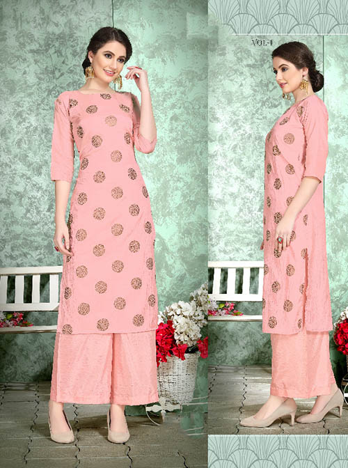 DESIGNER INDIAN KURTI - BT-K-R-90222-M