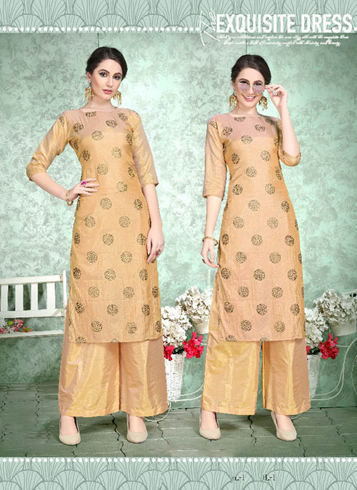 DESIGNER INDIAN KURTI - BT-K-R-90224-M