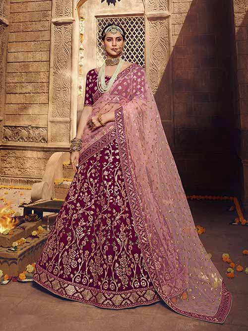 BEAUTIFUL INDIAN LEHENGA CHOLI - BT-LH-10301