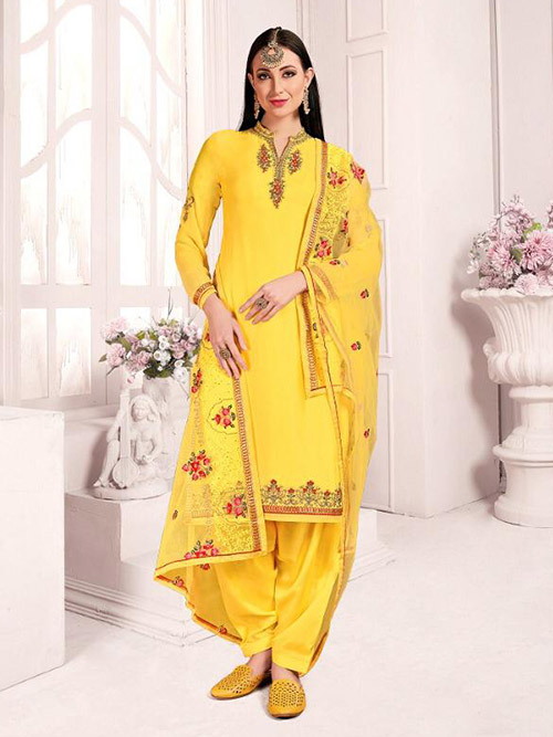 DESIGNER INDIAN SALWAR KAMEEZ - BT-SK-R-30281