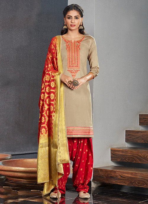 DESIGNER INDIAN SALWAR KAMEEZ - BT-SK-R-30292