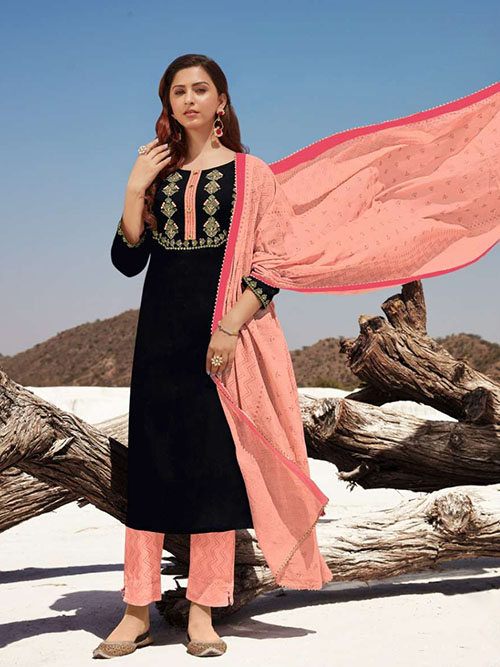 DESIGNER INDIAN SALWAR KAMEEZ - BT-SK-R-30818-4XL