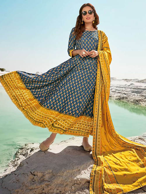 DESIGNER INDIAN SALWAR KAMEEZ - BT-SK-R-30820-4XL