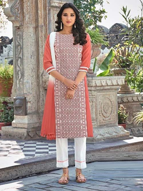 DESIGNER INDIAN SALWAR KAMEEZ - BT-SK-R-30821-5XL