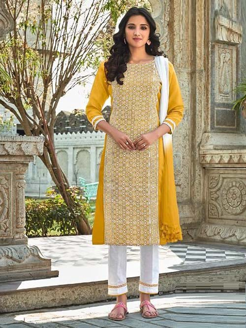 DESIGNER INDIAN SALWAR KAMEEZ - BT-SK-R-30824-5XL
